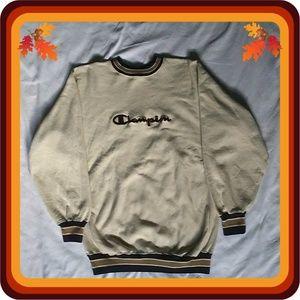 Vintage Champion Reverse Weave Spellout Sweatshirt